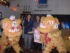 Lion Dance Ceremony, Feb 2010